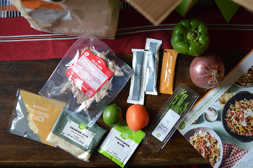 Hellofresh Meal Kit Delivery Service Used Sale