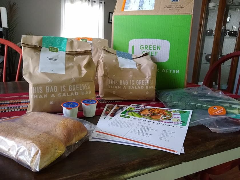 green chef meal kit review