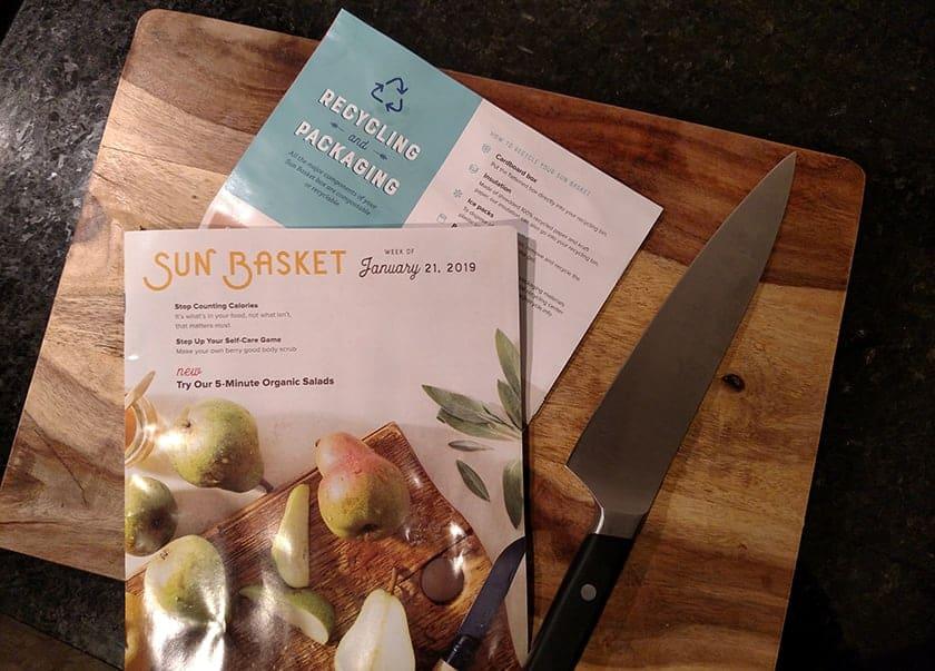 sunbasket vegan meal kit
