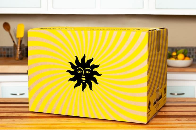 sunbasket new packing box