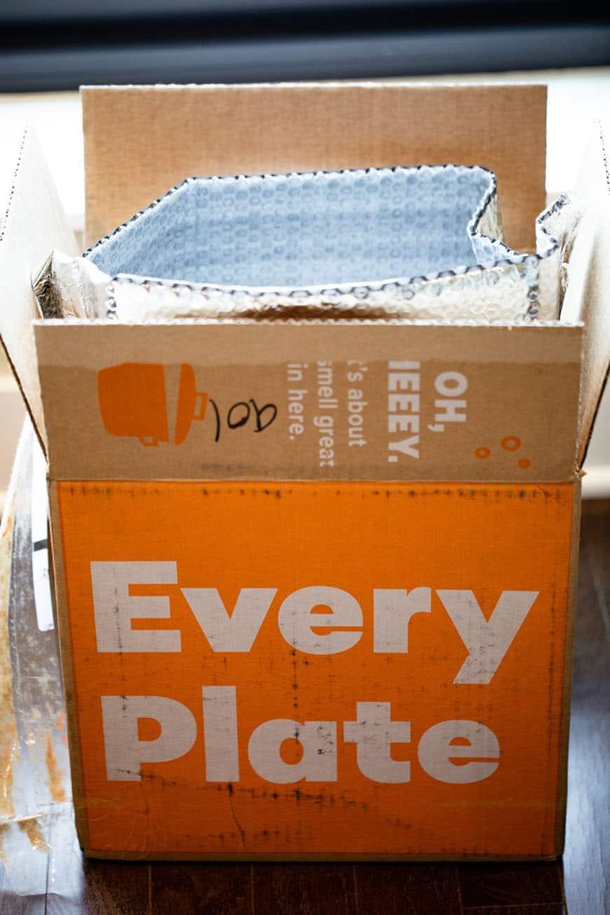 Every Plate box