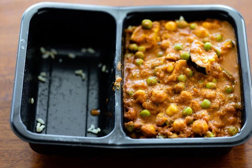 Vegetable Tikka Masala with Roasted Cauliflower and Rice