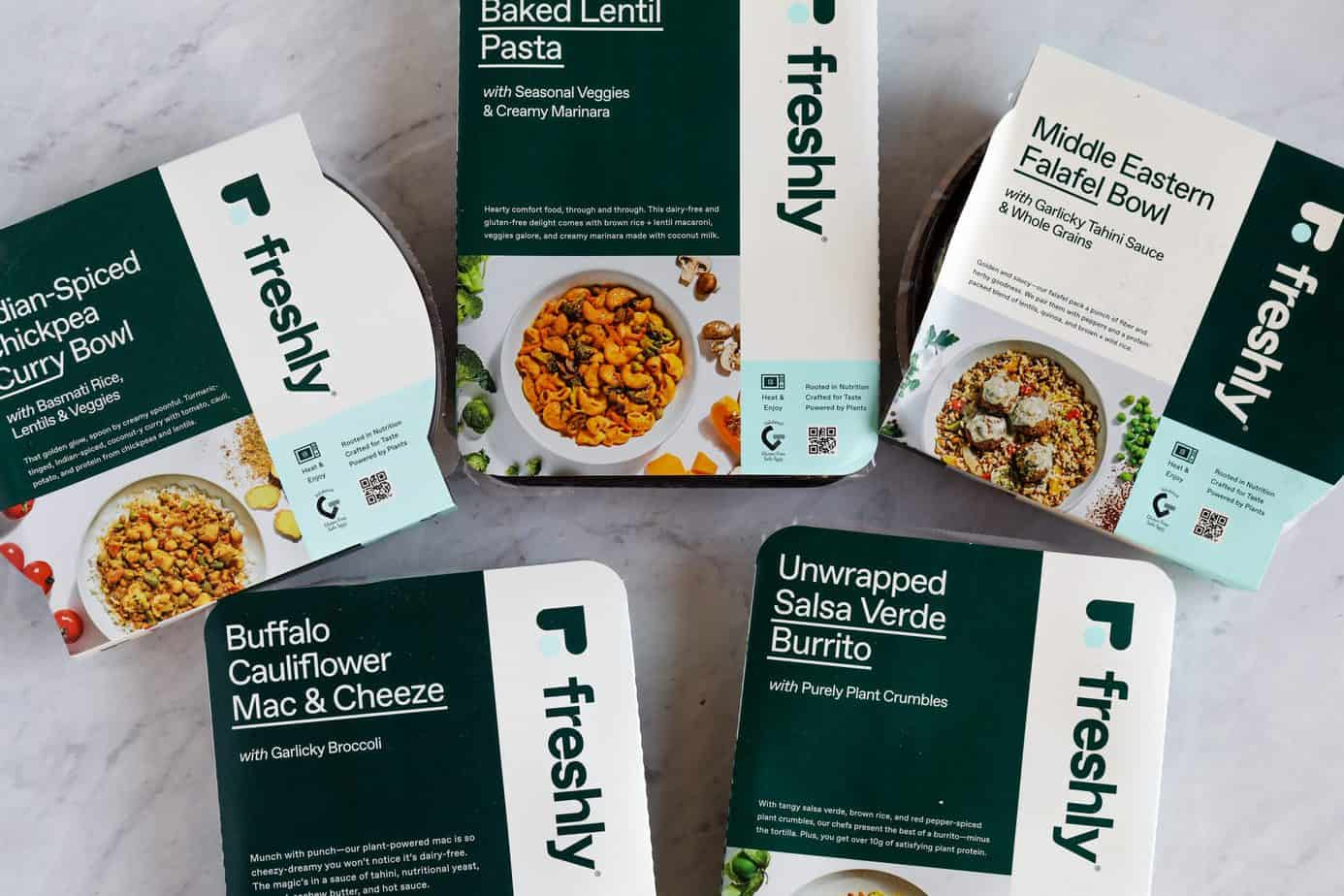 Freshly Plant based meals reviews